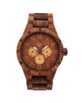 ساعت مچی چوبی مردانه مدل پردیس pardis